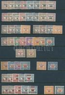 ** Hivatalos Gy?jtemény Hármas Lyukasztású Bélyegekkel, 52 Db (18.000) - Stamps