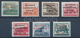 ** 1956 Soproni Kiadás  7 Darabos Sor (**12.000) - Stamps
