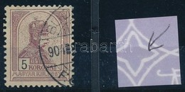 O 1900 Turul 5K Csillag Vízjellel (11.000++) - Stamps