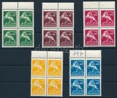 ** 1933 Cserkész Sor Négyestömbökben (16.000) - Stamps