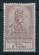 ** 1913 Árvíz 5K (12.000) - Stamps