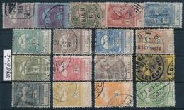 O 1913 Árvíz (I.) Teljes Sor (15.000) - Stamps