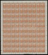 ** 1916 Arató-parlament 2f, 3f, 4f, 5f, 6f, 15f, 1K Hajtott Teljes ívek (17.000) - Stamps