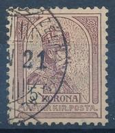 O 1900 Turul 5K (11.000) (rövid Fog) - Stamps