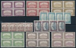 ** 1916 Arató-Parlament 4 Sor összefüggésekben (11.200) - Stamps
