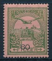 * 1913 Turul 60f Er?sen Eltolódott értékszámmal - Stamps