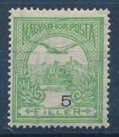 * 1913 Turul 5f Er?sen Eltolódott értékszámmal - Stamps