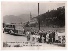 Hagelandse Lourdes Bedevaart - Foto - 9/18 Augustus 1951 - Autocar 't Hageland Bouvin & Trompet, Meensel - Kiesegem - Lieux