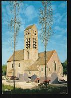 Cpm 9114169 Fontenay Le Vicomte L'église , Cimetière - France