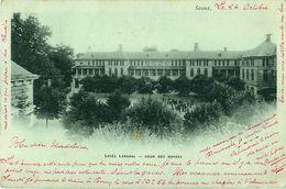 Cpa Précurseur SCEAUX 92 Lycée LAKANAL -- Cour Des Moyens - Sceaux
