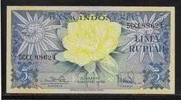 Indonésie - 5 Rupiah - Pick N°65 - NEUF - Indonésie