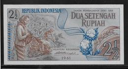 Indonésie - 2 1/2 Rupiah - Pick N°79 - NEUF - Indonesia