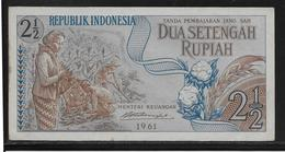 Indonésie - 2 1/2 Rupiah - Pick N°79 - SPL - Indonesia