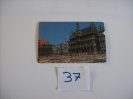 """CARTES TEST -  ALCATEL -  Bruxelles """"townthall """"   Dos 10 - 2050 - Voir Photo ( 37 ) - Belgium"""