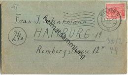 Brief Berlin - 20 Pf. Bauten Nach Hamburg Am 2.Februar 1950 - Berlin (West)