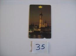CARTES TEST -  ALCATEL -  Cathedral D'anvers   Dos A - Voir Photo ( 35 ) - Belgium