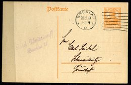 "German Empires/Polen 1917 Ganzsache Mi.Nr.P110 Mit Klaren Rollstempel""Breslau 20.12.1917 ""1 GS Used - Covers & Documents"