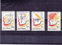 ROUMANIE 1981  Yvert 3333-3336 NEUF** NMNH - 1948-.... Républiques