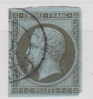 FRANCE YT N° 11 - 1853-1860 Napoleone III