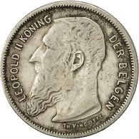 Monnaie, Belgique, 2 Francs, 2 Frank, 1904, TTB, Argent, KM:59 - 1865-1909: Leopold II