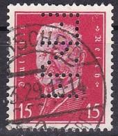 Deutsche Reich, 1928/32 - 15pf Von Hindenburg, Perfin - Usato° Nr.374 - Germania