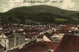 T2 Feketehalom, Zeiden, Codlea; A Templomtoronyból. H. Zeidner Kiadása / Vom Kirchturm / From The Church Tower - Unclassified