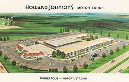 Airport Minneapolis , Howard Johnson's Motor Lodge - Aerodrome