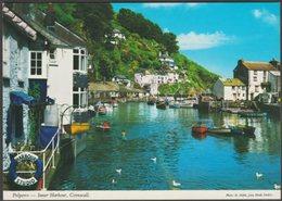 Inner Harbour, Polperro, Cornwall, C.1990 - John Hinde Postcard - England