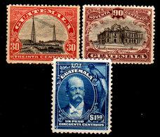 Guatemala-0074 - Emissione 1918-1919 (+8sg) LH/NG - - Guatemala