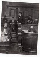 Photo Presse - Raoul Villain Assassin De Jaurès En Cours D'assises Mars 1919 Photo ? - Personnes Identifiées