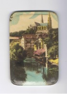 Miroir De Poche - CHARTRES, Vue De La Cathédrale Depuis Le Pont Neuf  (fr60) - Publicité
