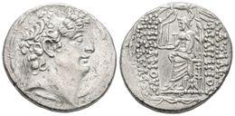 5 FILIPO I PHILADELPHOS. Tetradracma. 92-83 A.C. Reino Seleucida. A/ Busto Con Diadema De Filipo Philadelphos A Derecha. - Spain