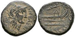 34 ARSE-SAGUNTO. As. 50-20 A.C. Sagunto (Valencia). A/ Cabeza De Roma Con Casco A Derecha, Alrededor Leyenda Externa M.  - Spain
