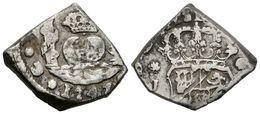 534 FERNANDO VI. 2 Reales. 1747. Guatemala J. Tipo Columnario. Cal-452. Ar. 6,84g. MBC+. Muy Escasa. - Spain