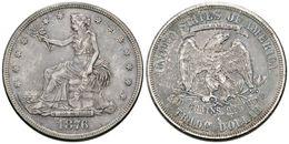 810 ESTADOS UNIDOS. Trade Dollar. 1876. San Francisco S. Km#108. Ar. 27,22g. Tono. MBC+. - Spain