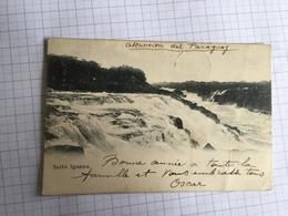 18F - Ascuencion Del Paraguay Salto Iguazu 1904 - Paraguay