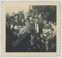 Cyclisme . Grand Prix Cycliste De Poilly-lez-Gien . 1er Rentien 2e Boiquillon . Circa 1949 . - Sports