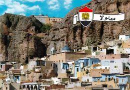 1 AK Syrien * Blick Auf Den Ort Maaloula * - Syria