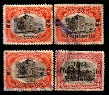 Guatemala-0077 - Emissione 1920-21 (sg/o) NG/Used - Varietà Di Sovrastampa - - Guatemala