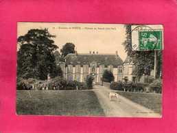 28 Eure Et Loir, Environs De Dreux, Château Du Breuil, 1914, Animée, (Ch. Foucault) - Dreux