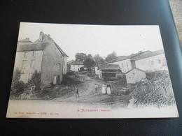 CPA A Nayemont Dans Les Vosges - écrite Par La Croix Rouge, Carte Animée - Daté Noël 1921 - N°5874 - Autres Communes