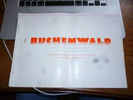 Recueil 48p Camp Prisonniers Buchenwald Dokumentensammlung Mit Skizzen Und Lagekarten Der Nationalen Gedenkstätte - 5. Guerres Mondiales