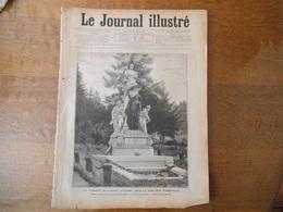 LE TOMBEAU DE L'AMIRAL COURBET DANS LE CIMETIERRE D'ABBEVILLE IMAGE DETACHEE DU JOURNAL ILLUSTRE DU 31 AOUT 1890 - Other