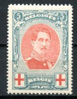 BE   132A    XX   ---   Bon Centrage   --  Albert 1er   --   COB : 125 Euros - 1914-1915 Red Cross