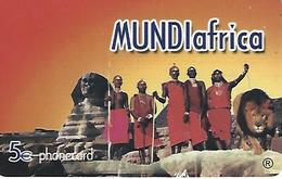 MUNDIafrica Prepaid Phonecard - Portugal - Portugal