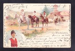 RUM4-99 SALUTARI DIN ROMANIA - Romania