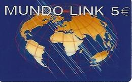 Mundo Link Prepaid Phonecard - Portugal - Portugal