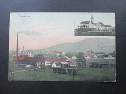 AK Österreich / Slowenien 1910 Domschale. Stempel Domzale. Franc Kunc Ljubiljana. RRR / Seltene Karte! - Slowenien