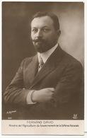 Fernand David Né à Annemasse Ministre Agriculture Guerre 1914 Photo Manuel - Annemasse