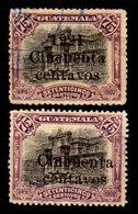 Guatemala-0078 - Emissione 1920-21 (o) Used - Varietà: Senza 1921 - NoN NOTA All'Yvert & Tellier - - Guatemala